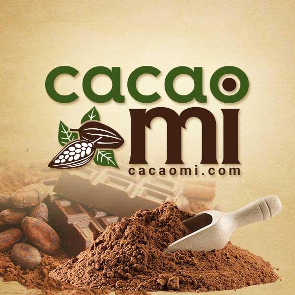 logo cacao nguyên chất