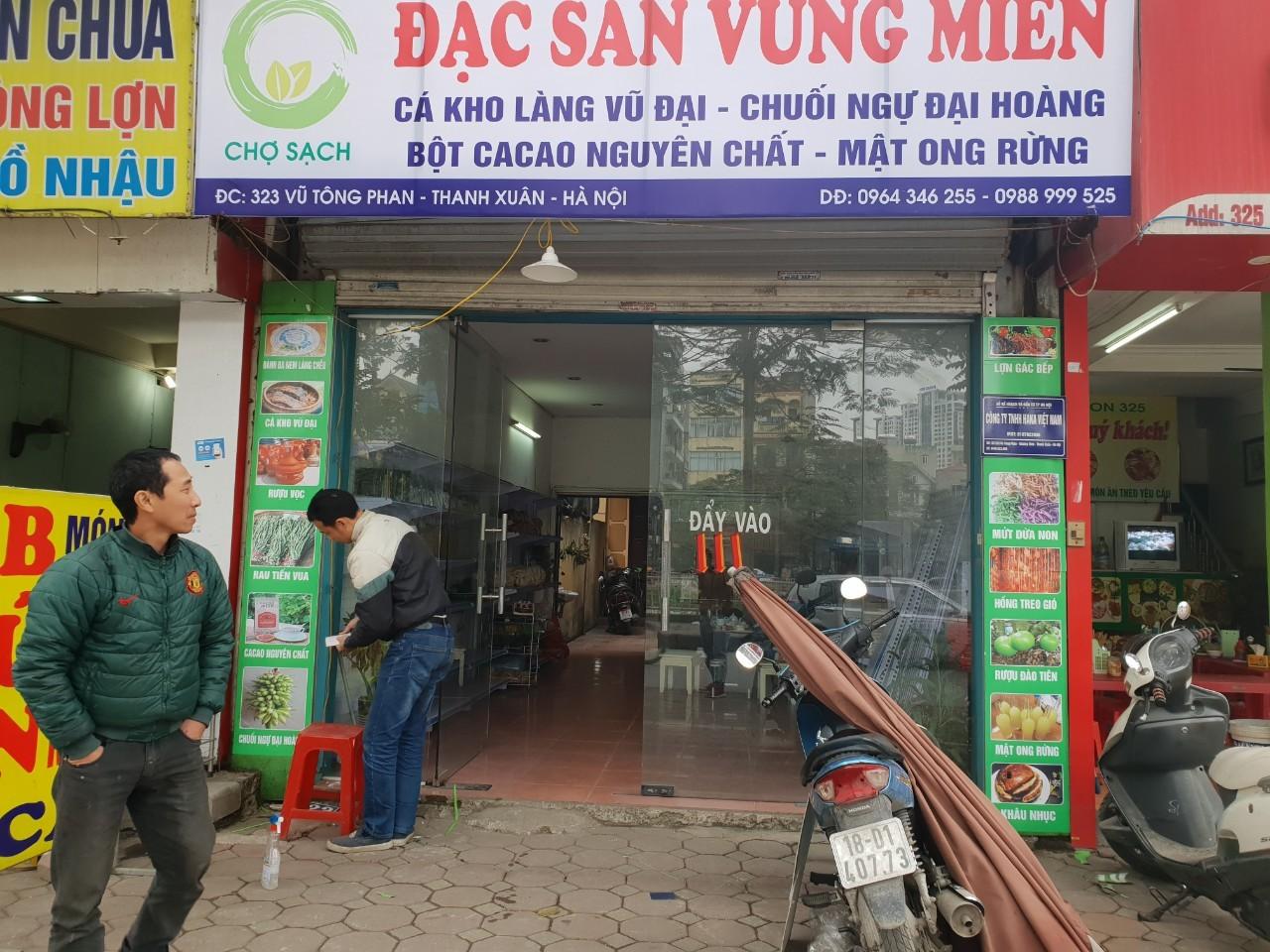 cửa hàng bán cá kho làng vũ đại